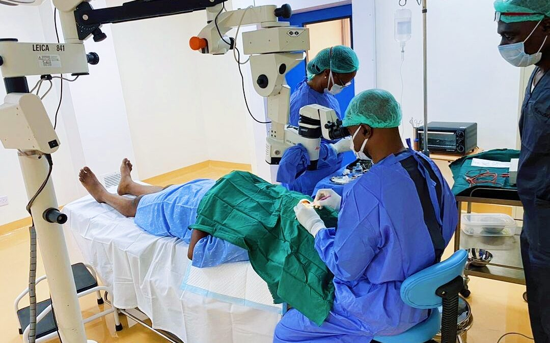 EYE SURGERY AT OUR FACILITY!